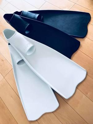ワープフィンの先端をカットした遠藤学オリジナル形状ワープフィンを使ってみた